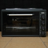 Akel AF 382 Mide Oven with Two Hot Plates