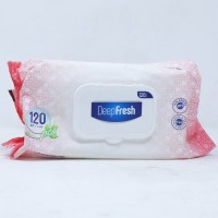 ዲፕ ፍሬሽ እርጥብ የገላ መወልወያ -  120 ንጥሎች / Deep Fresh Wet Wipes - Jumbo Pack 120 pcs