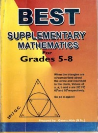 Best Supplementary Mathematics  For Grades 5 - 8