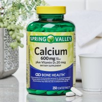 Spring Valley - Calcium 600mg