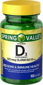 Spring Valley - Vitamin D3