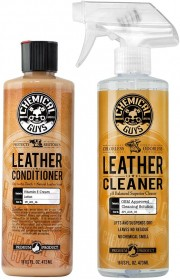 Chemical Guys - Leather Cleaner and Conditioner Complete Leather Care Kit
